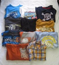 Boys Size 8 Fall/Winter Lot of 11 Long Sleeved T Shirts Hoodies Old Navy Arizona