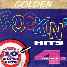 Golden Rockin Hits,Vol.4 by Various Artists~NEW FACTORY SEALED CD~FREE SHIPPING
