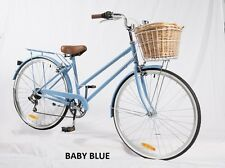 SAMSON CYCLES 7 SPEED BABY BLUE VINTAGE LADIES BIKE