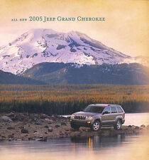 2005 JEEP GRAND CHEROKEE BROCHURE -LAREDO-LIMITED-GRAND CHEROKEE-JEEP
