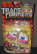 TRANSFORMERS ROTF MOVIE DELUXE AUTOBOTS SKIDS & MUDFLAP ICE CREAM TRUCK MOC