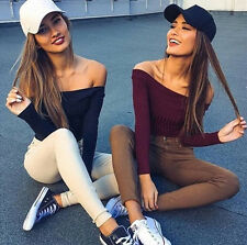Fit Long Sleeve Stretch Casual Sweaters 1PCS Knitted New Pullovers Fashion Women