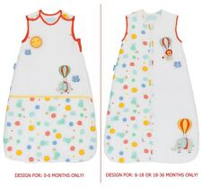 Grobag Baby Sleeping Bag 1.0 or 2.5 Tog - Drift Off (0-6, 6-18 or 18-36 months)