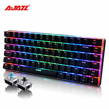2016 Ajazz AK33 RGB LED Backlight Usb Ergonomic Gaming Gamer Mechanical Keyboard