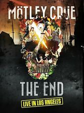 MOTLEY CRUE 'THE END : LIVE IN LOS ANGELES' DVD (4th November 2016)