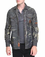 Heritage America Distressed Indigo Denim Jacket