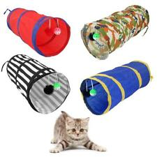 Pop Up Cat Dog Pet Rabbit Puppy Playing Tunnel Exercise Foldable Activity Toy