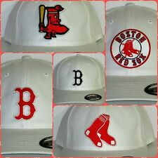 "Boston Red Sox ""FLEXFIT"" CAP ✨HAT ✨CLASSIC MLB PATCH/LOGO ✨5 Styles 3 Sizes ✨NEW"
