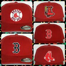 "Boston Red Sox ""FLEXFIT"" CAP ✨HAT ✨CLASSIC MLB PATCH/LOGO ✨5 Styles 2 Sizes ✨NEW"