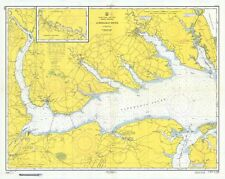 Albemarle Sound Historical Map - 1957