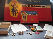 Vintage 1958 / 1950s Buccaneer Waddingtons Board Game - Replacement Spare Parts