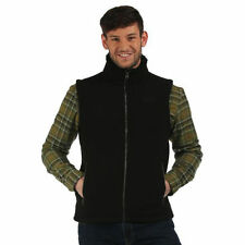REGATTA MENS RAFFERTY HEAVYWEIGHT FLEECE BODYWARMER GILET BLACK RMB059