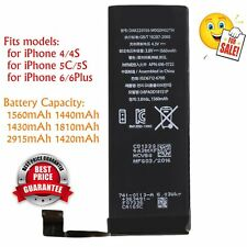 1560mAh Li-ion Battery Replacement with Flex Cable for iPhone 5S/5C/6/6plus BE