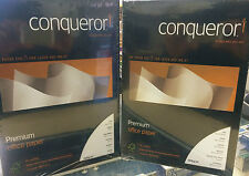 Conqueror Paper 100gsm A4 Various Finishes - Ideal for CV's Pack of 50
