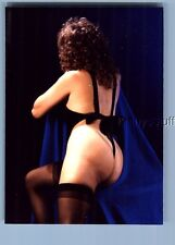 RISQUE COLOR PHOTO X_0381 VIEW BEHIND WOMAN IN SEXY LINGERIE