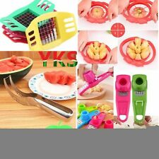 Convenient Watermelon Slicer Fruit Cutter Corer Scoop Stainless Steel Tool Hot