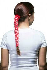 Wrapter Hair Ponytail Holder Cover Band Tie Wrap Tube Tangle Free! choose color