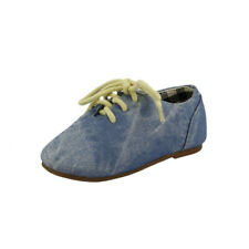 Baby Boy or Girl's Denim Classic Oxford Shoes Toddler size