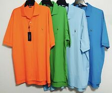 Polo Ralph Lauren Solid Color Pima Soft Touch SS Polo Shirt Big&Tall NWT $98