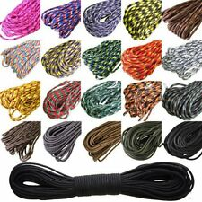 550 Paracord Parachute Cord Lanyard Mil Spec Type III 7 Strand Core100FT BE