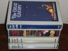 Easton Press FIRST EDITION LIBRARY F. Scott Fitzgerald 4 vols Great Gatsby ...