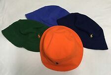 Polo Ralph Lauren Cotton Mesh Bucket Hat Pony Cap Sz L/XL NWT $49.50