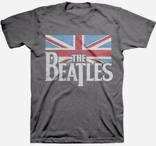 THE BEATLES - British Flag - T SHIRT S-M-L-XL-2XL Brand New Official T Shirt