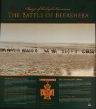 ANZAC Battle Of Beersheba Charge Of The 800 Limited Edition Official RSL Print