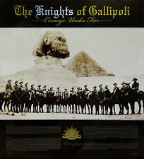 ANZAC LIGHT HORSEMEN 8th REGIMENT SPHINX PYRAMID WWI Print RSL GALLIPOLI