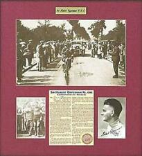 Sir Hubbert Opperman Hand Signed 1931 Limited Edition Photo Collage  Cadel Evans