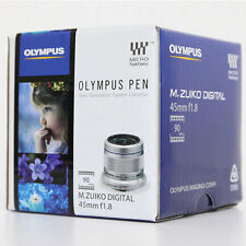 Olympus PEN M. Zuiko Digital ED 45mm f/1.8 Lens For Micro Four Thirds *FedEx