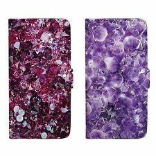 Crystal Patterned Wallet Flip Case Cover For iPhone 5 5S SE 6 6S 7 Plus 172C