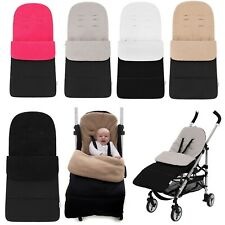 Universal Luxury Fleece Lined Pushchair/Stroller Footmuffs Cosy Toes (5 Colours)