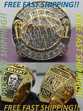 Los Angeles Lakers Championship Ring NBA 2010 Kobe Bryant Black Mamba - NEW