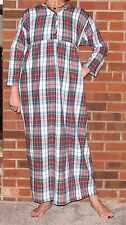 Nightgown Flannel Plaid Cozy 'Made in USA'