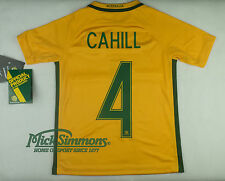 Socceroos 2016/17 Kid's Home Jersey by Nike - Tim CAHILL #4 Printing
