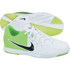 Nike Total 90 Shoot IV IC Indoor 2012 Soccer Shoes White - Green Red Kids Youth