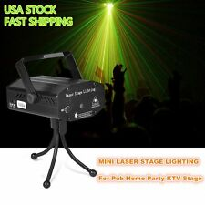 Mini LED R&G Laser Projector Stage Lighting Adjustment DJ Disco Party Club Shop