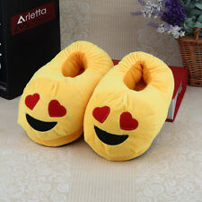 Home All The Expression Cartoon Slipper Plush Slippers House Winter Warm Shoes F