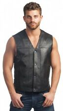 Premium 1.2MM Leather Vest 2611.00 Unik International Inc Naked Cowhide