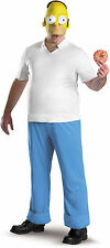 The Simpsons Homer Deluxe Adult Mens Funny Halloween Costume Fancy Dress Up,