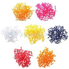 100pcs/Set Professional Durable Plastic Castle Golf Tees 25-70mm Various Colours