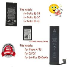 Li-ion Battery Replacement for iPhone 5S/5C/6/6plus for Nokia for Samsung I9300