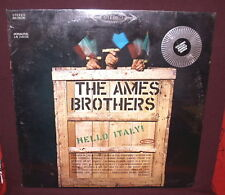 The Ames Brothers LP Hello Italy 1963 Factory Sealed