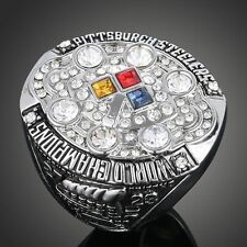 High Quality 2008 Pittsburgh Steelers Championship Ring Size 7 8 9 10 Fan gift