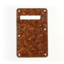 Guitar Tremolo Trem Cover Back Plate for American Standard Strat Parts 3 Ply