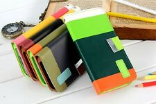 Hybrid PU Leather Wallet Flip Pouch Stand Case Skin Cover For Samsung Galaxy S5