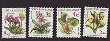 Czech Republic 1997 MNH - Wild Flowers - set of 4 stamps
