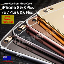 Luxury Aluminum Ultra-thin Mirror Metal Case Cover for iPhone 7/ 7Plu 6/ 6s Plus