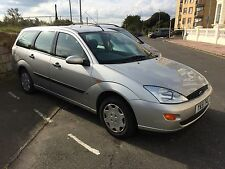 Ford Focus LX estate 2001, Low Mileage great condition, Years MOT